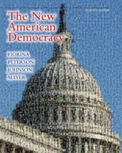 Test bank for The New American Democracy 7th Edition by Fiorina
