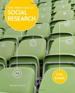 Test bank for The Practice of Social Research 13th Edition by Babbie