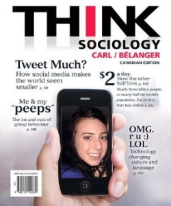 Test bank for Think Sociology 1st Canadian Edition by Carl